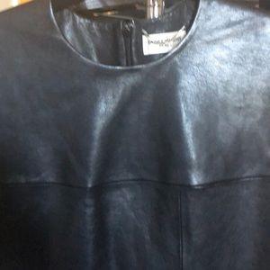 Black Leather Saint Laurent